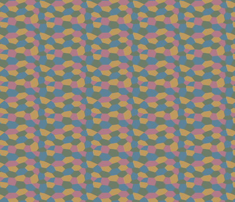 1/6 Scale WWI Lozenge Camo for Model Aircraft fabric by ricraynor on Spoonflower - custom fabric