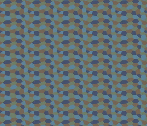 1/6 Scale WWI Lozenge Night Camo for Model Aircraft fabric by ricraynor on Spoonflower - custom fabric
