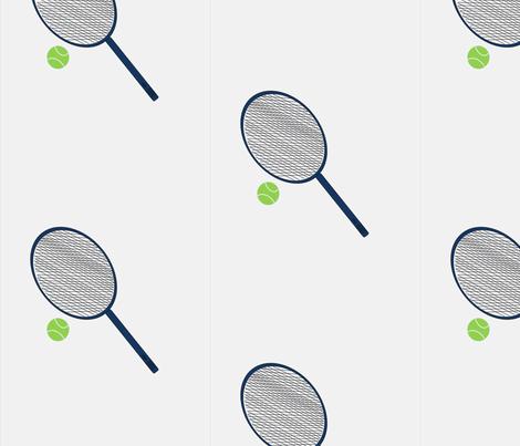 Tennis-ch fabric by taylor72413 on Spoonflower - custom fabric