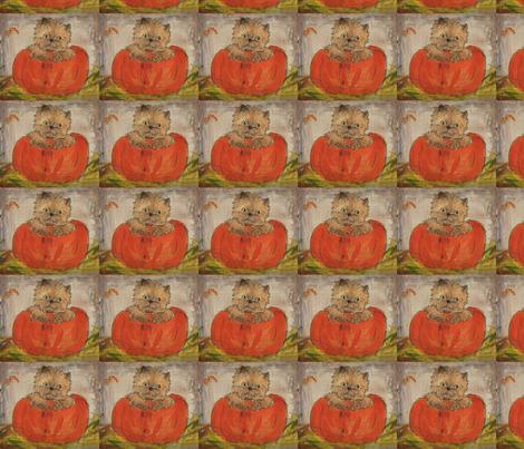 Pumpkin Cairn fabric by mccormickcairns on Spoonflower - custom fabric