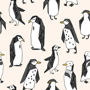 penguins // off-white champagne penguins penguin bird antarctic white soft ice winter