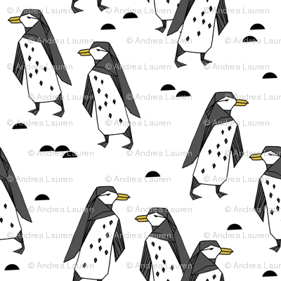penguins // white bird birds winter antarctic kids