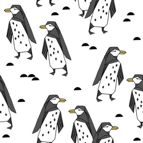 penguins // white bird birds winter antarctic kids