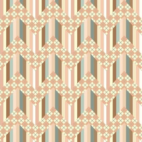 coraljade-chevron and argyle