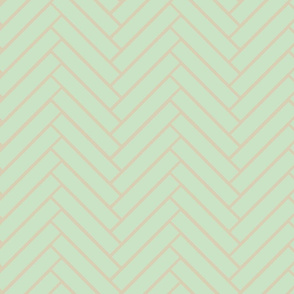 mint herringbone