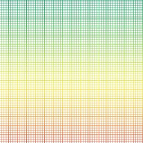 rainbow graph paper (large rainbow)