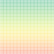 rainbow graph paper (large rainbow)