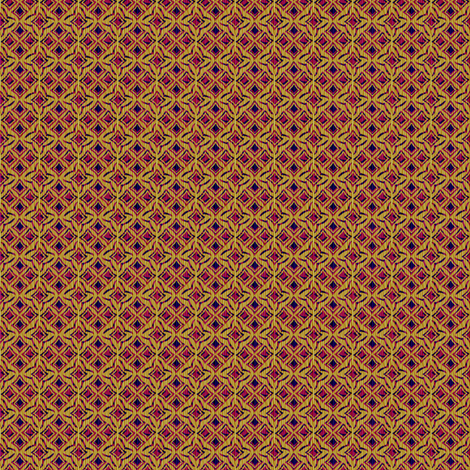 ruby trellis fabric by glimmericks on Spoonflower - custom fabric