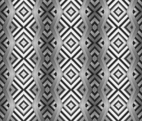 on the edge fabric by melforrest on Spoonflower - custom fabric