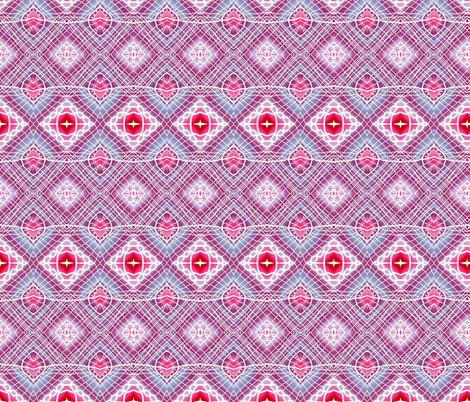 Lines and Diamonds fabric by robin_rice on Spoonflower - custom fabric