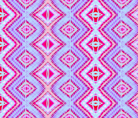 Lines and Diamonds 2 fabric by robin_rice on Spoonflower - custom fabric
