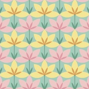 circle 8 arc flower 1x2