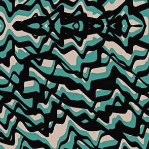 line distortions teal