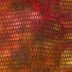 Orange Dragon Scales