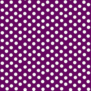 Pretty Polka Dots in Wine