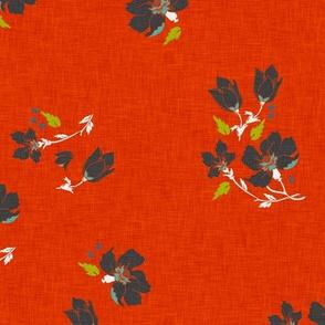 vintage_floral_orange