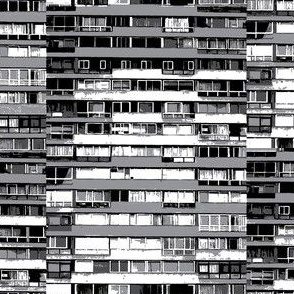 The City- black&white&grey
