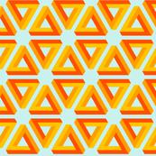 4-dimensional hazard warning triangles