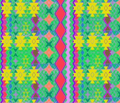 Aztec universe bright fabric bloomingwyldeiris spoonflower for Universe fabric