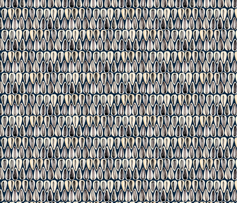 Sunflower Seeds fabric by alexaug on Spoonflower - custom fabric