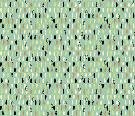Droplets fabric by neryl on Spoonflower - custom fabric