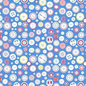 buttons blue