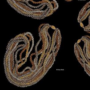 Ni`ihau Shell Necklace with Black back_54_x_36