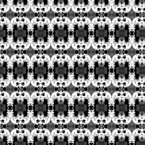 Birdseye Chain (small) fabric by gothamwood on Spoonflower - custom fabric