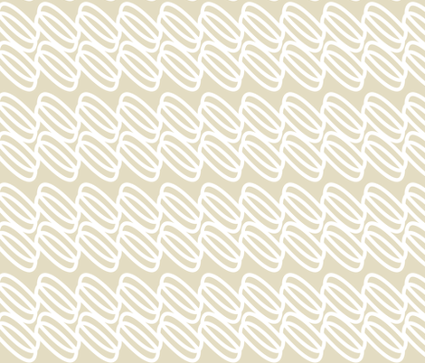 white & sand links-ch fabric by alison_janssen on Spoonflower - custom fabric