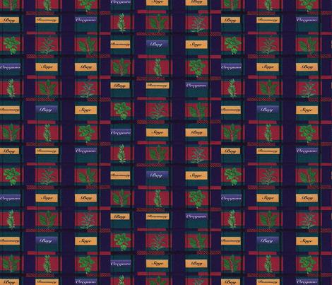 Herb Garden Tartan Plaid fabric by anomkat on Spoonflower - custom fabric
