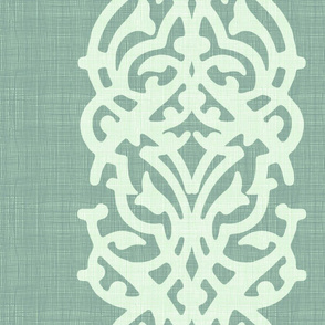 arabesque linen gray_green