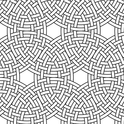 triple ring weave fabric by sef on Spoonflower - custom fabric