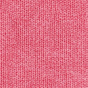 light red berry knit