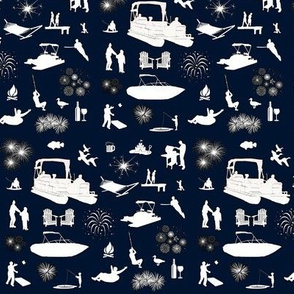 Lake Fun Fabric
