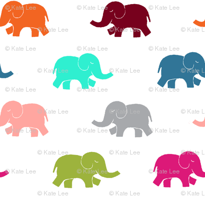 colorful elephant reduced
