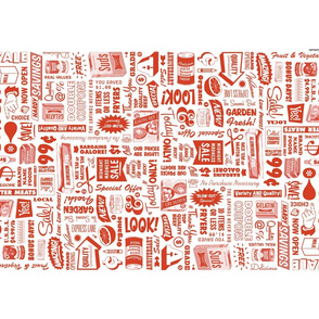 Stock Up! Tea Towel* (Tomato Soup)