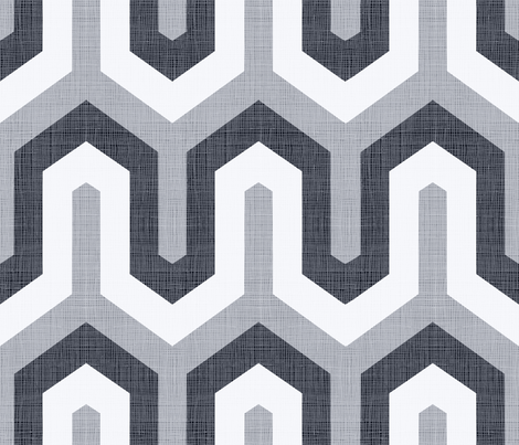 greek_BW_100 fabric by chicca_besso on Spoonflower - custom fabric