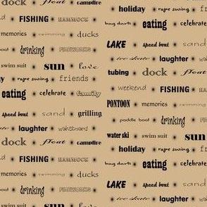 Lake Words