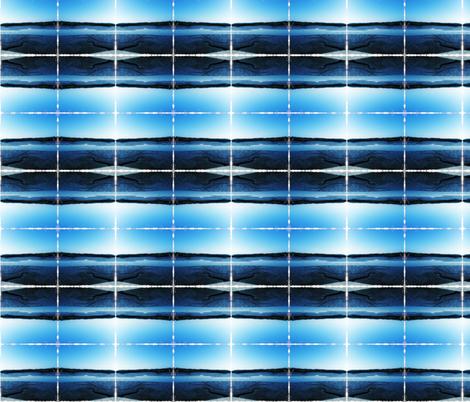 low tide blue stripe fabric by liberation on Spoonflower - custom fabric