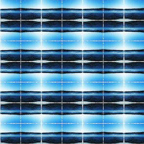 low tide blue stripe