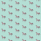 Arabian Horse on Seafoam