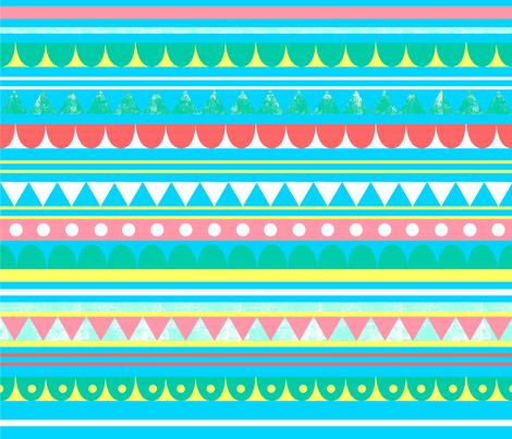 Circus Pattern fabric by beckylong10 on Spoonflower - custom fabric
