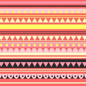 Circus Pattern Pink
