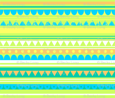 Circus Pattern Yellow
