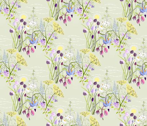 Herb_garden fabric by alfabesi on Spoonflower - custom fabric