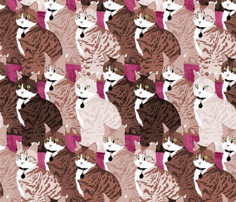 Regelwyn Natural fabric by pond_ripple on Spoonflower - custom fabric