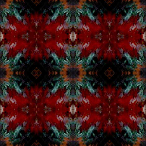 Jangles Latticework fabric by gothamwood on Spoonflower - custom fabric
