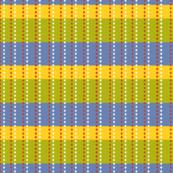 Bright Garden Stripes