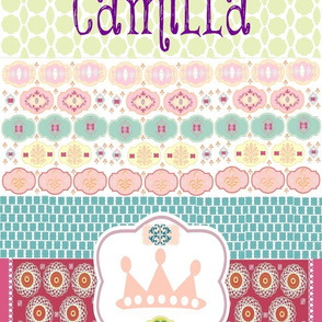 Morocco Princess Personalized - Camilla - 28x36