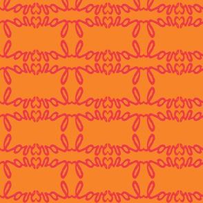 love red orange